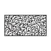 31603-48-inch-W-x-24-inch-H-Black-Floral-Plastic-decorative-Screen