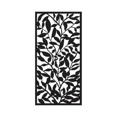 31650-36-inch-W-x-72-inch-H-Black-Foliage-Plastic-Screen