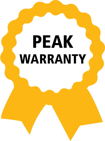 Peak 20 Years extended warranty