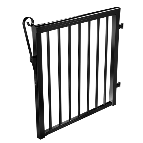 RailBlazers-Black-Gate-Standard-Picket-Gloss-90161