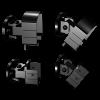 RailBlazers-Black-Universal-Connector-Gloss-90901