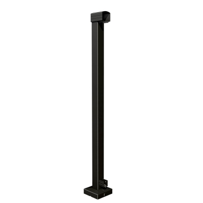 RailBlazers Matt Black End Post