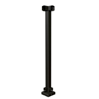 RailBlazers Matte Black Corner Post 91021