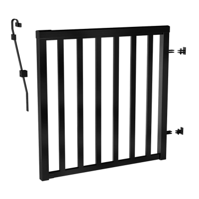 RailBlazers-Matte-Black-Wide-Picket-Gate-91166
