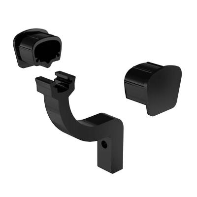 RailBlazers-Matte-Black-Handrail-Kit-Caps-91991