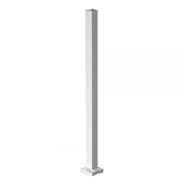 RailBlazers-White-Stair-Post-Gloss-90050