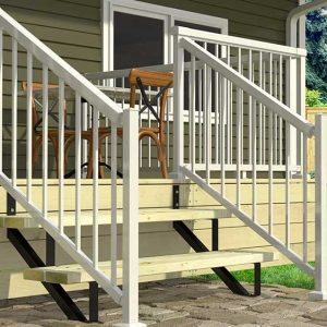 2 Steps Stair Risers life style image in Deck Products