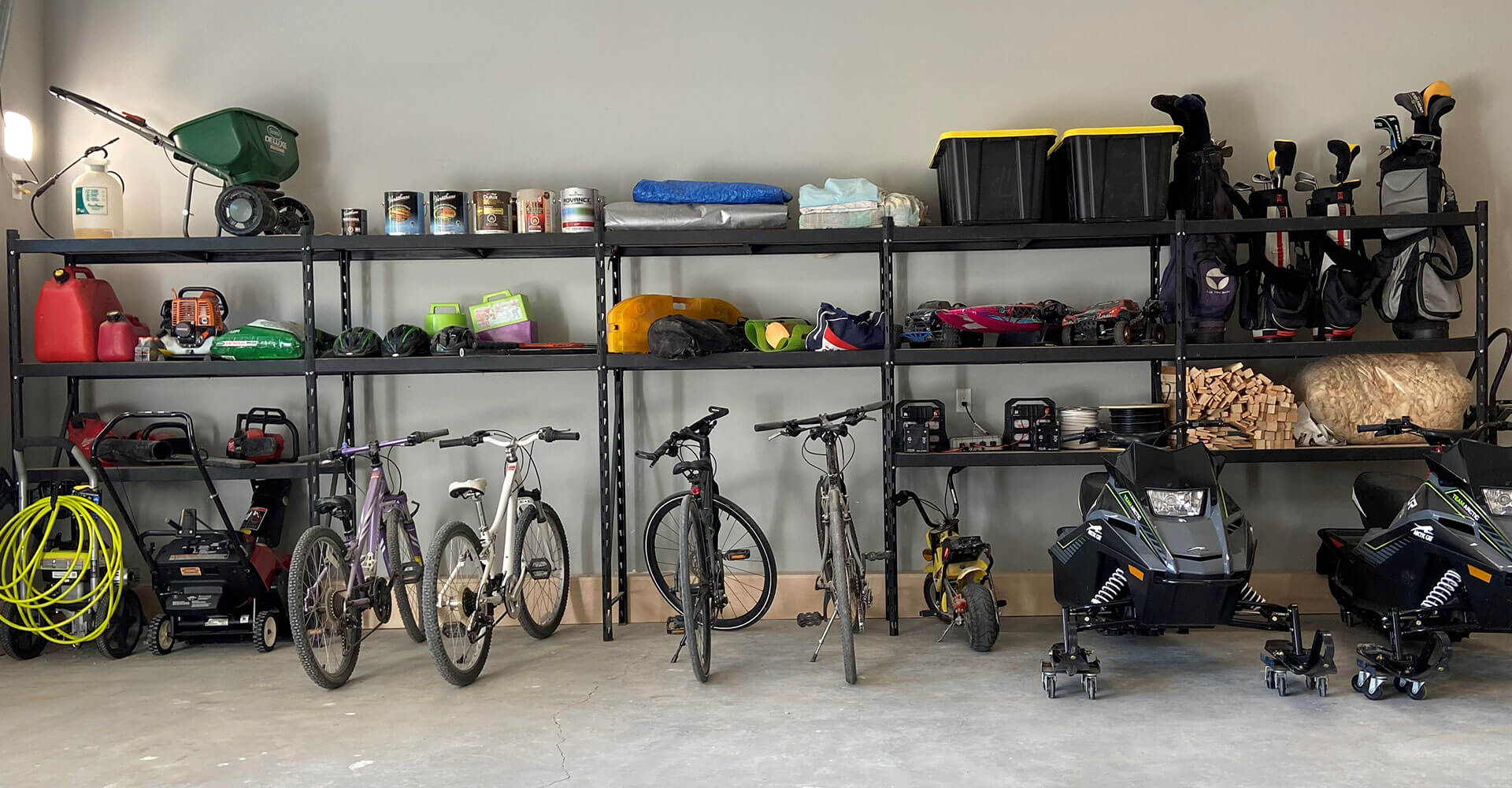 Husky shelving unit garage storage