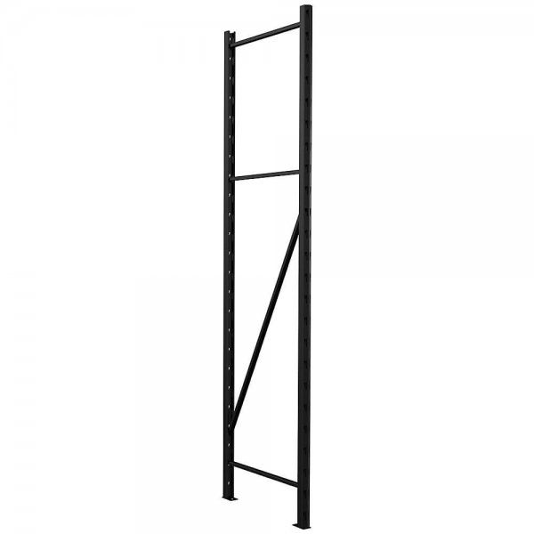 husky metal storage rack upright