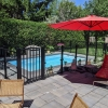 Aquatine Plus Pool Fencing in use