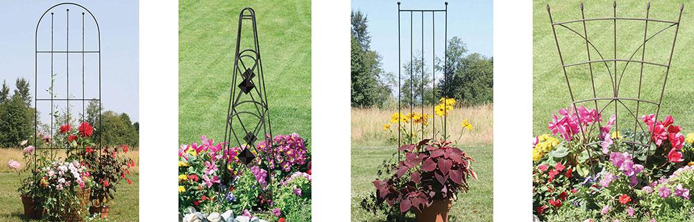 Garden Trellis and Garden Obelisks