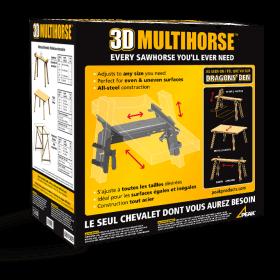 3D Multihorse