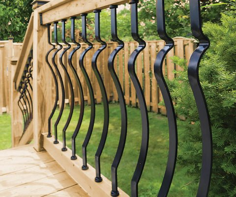 Veranda Deck Rail Kit Baroque Balusters 819913