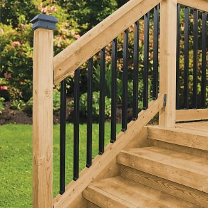 Deck Stair Railing Kits
